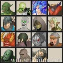Легендарные герои меча и магии